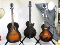We have just received 3 very special guitars from the