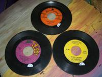 3 Vintage 45 records All play great, great condition