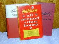 I have for sale 3 collectible books by famous Author