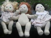 I have 3 Vintage Mattel My Child Dolls. A blong,