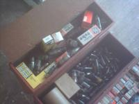 this is 3 old t v repair boxs 1 raytheon & 2 rca boxes