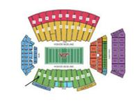 3 tickets to the football video game between VT Hokies