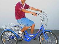 . . 3 Wheel / 3 SPEED Adult Bicycle : Normal Upright