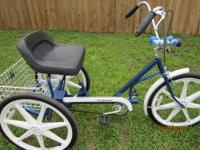 "FOR SALE: 3 Wheel Bicycle 24"" Trailmate (E Z Roll)"