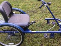 "3 Wheel Bicycle, Adult 24"" Trailmate ""JoyRider"","