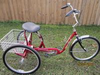 "3 Wheel Bicycle 24"" Trailmate (Desoto Classic)"