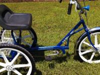 "3 Wheel Bike. 24"" Trailmate E Z Roll. Single Rate with"