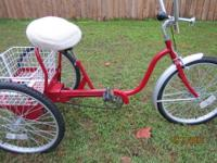 "FOR SALE: 3 Wheel Bicycle 24"" Trailmate (Very Heavy"