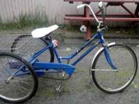 3 wheel bike good condition ,,$200.00 call  thank you