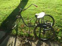 Old bike, in need of some repair. Call Pete at  for