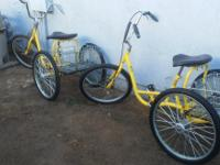 I HAVE TWO 3 WHEEL BIKES TIRES ARE IN GREAT CONDITION