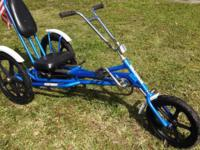 "3 Wheel Bicycle ""The Bullet"" Adult or Child 20"""