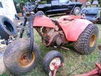 One of my winter projects Suzuki 3 wheeler, older