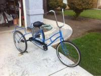 I have a 3 wheeler bicycle completely gone threw ride