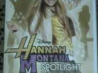Wii Games: Hanna Montana (New), Wild West Shootout, and