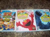 I have three Wii games for kids...Samba de Amigo (which