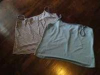 i have three womens tank tops in good condition asking