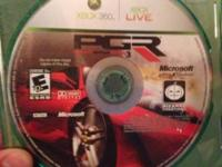 I have actually madden 12, kinect journeys and PGR 3