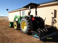 Description Almost New 5205 John Deere Tractor, move