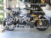 This is a one of a kind GSXR 1000 built for the right