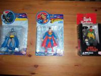 DC Direct Series 1 Re-activated Super Man and Batman.