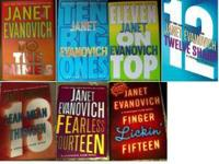 I am selling some hardcover books by Janet Evanovich.