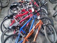 30 BMX Bikes for Sale!! All Different Brands!! More
