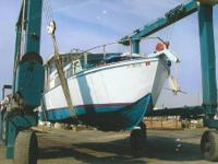 30 custom built cabin cruiser, ALL STAINLESS STEEL, air