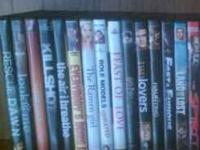 I need to get rid of these DVD's. I've had them forever