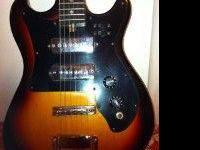 Harmony Electric Guitar. Slightly smaller body and