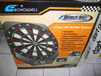 Brand new in box Echowell LCD Electronic Dartboard - 8