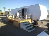 Ready to move in travel trailer for SNOWBIRDS! All