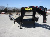 NEW 30 FT. BIG TEX 22GN 25+5 FT GOOSENECK EQUIPMENT