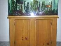 I have a nice 3o gal fish tank set and stand. It comes