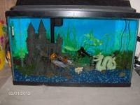i have a 30 gallon fish tank for sale it comes with a