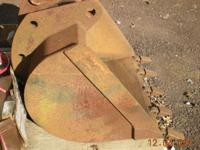 "30"" John Deere backhoe bucket in good condition."