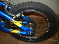 rhino kids bike. its still got the little soft rubber