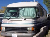 clean, good shape motorhome. Has almost new 454 chev