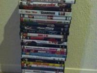 I am selling all 30 movies listed below for $40. Good