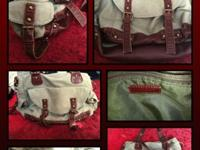 Hey There!This is a USED ALDO brand cargo like bag,