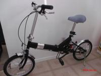 Infinity brand folding bicycle. Bike needs some love,