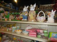 QUITE CUTE EASTER DECOR FROM.25 TO 7.00.