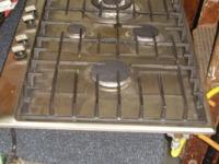 "Excellent condition 30"" Siemens Four Burner Gas Cook"
