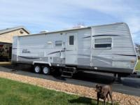 2008 Salem LE by Forest River. 30' long with bedroom in