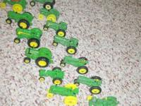 1/64 Scale Ertl Toy Tractors made in the 70's and 80's,