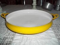 THIS IS A VINTAGE DANSK MADE IN FRANCE IHQ PAELLA PAN.