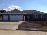 Brand new home in spencer. House has custom cabinets,