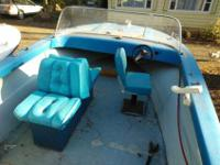 Here is a Nice Big 18' Run about Fishing Boat with