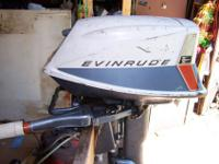 1963 Evinrude Fisherman 5 1/2 Hp Carb rebuilt with new