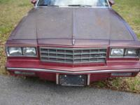 We have the front clip from a 1984 Chevrolet Monte